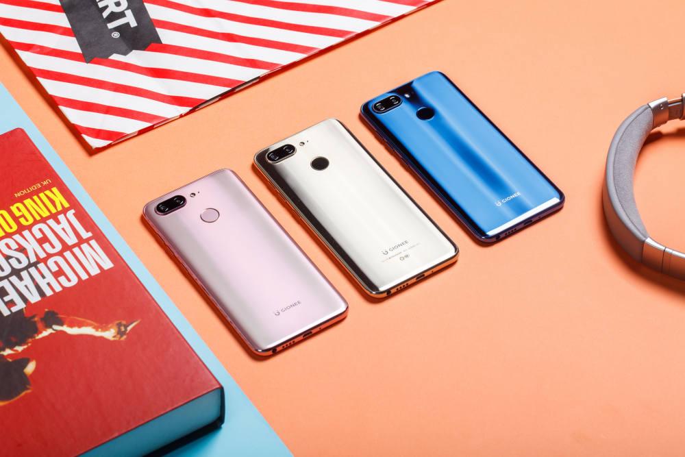 """""""全方位全面屏手机"""",金立一口气发布8款新产品"""