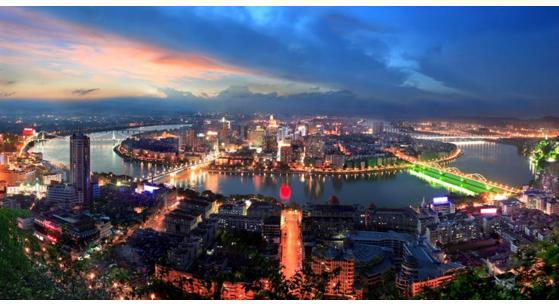 广西一地级市,人口近400万,因一条江而得名!