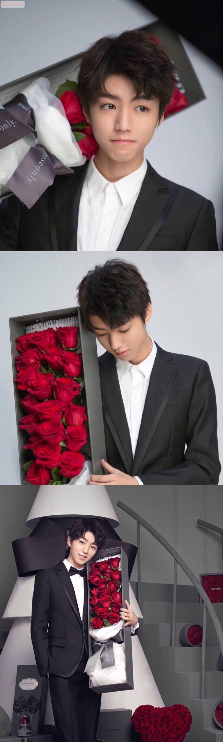 这些年王俊凯送出的花:看大哥如何从羞涩少年,变送花技能满分boy