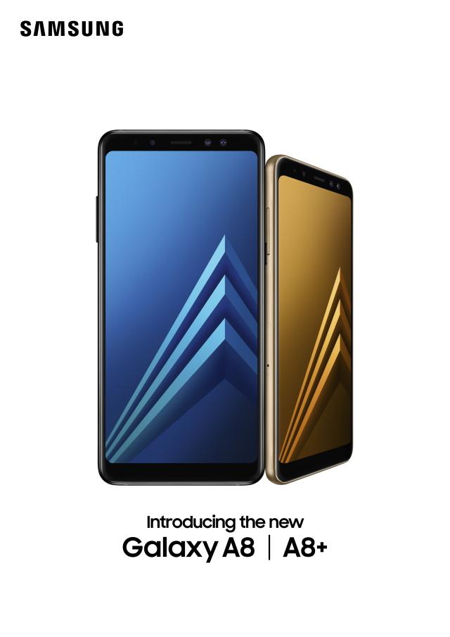 三星Galaxy A8和A8  公布,适用Gear VR,配置全面屏手机