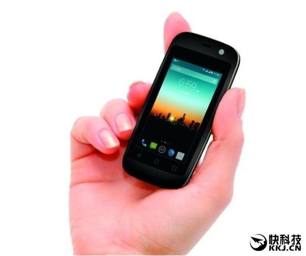 320元!全球最少屏安卓手机来啦:2.5寸屏、长仅一张储蓄卡