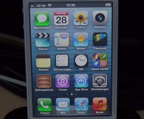 回绝平扁UI重归經典拟有机化学 iPhone4s店退级iOS6.1.3专用工具释放