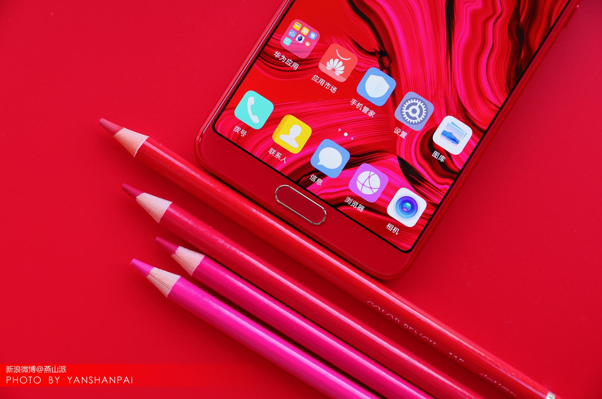 华为公司nova3s思念红版免费观看,这长相你给一些?