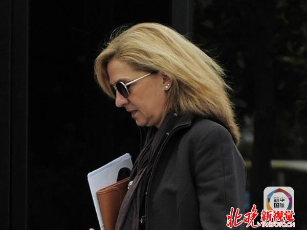 逃税!西班牙公主受审 如罪名成立可判入狱8年