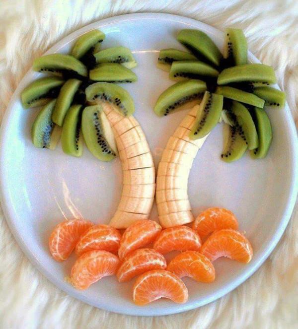 28个用水果砌出来的动物造型!太可爱了,你舍得吃掉吗? 水果砌出来的动物造型 第11张