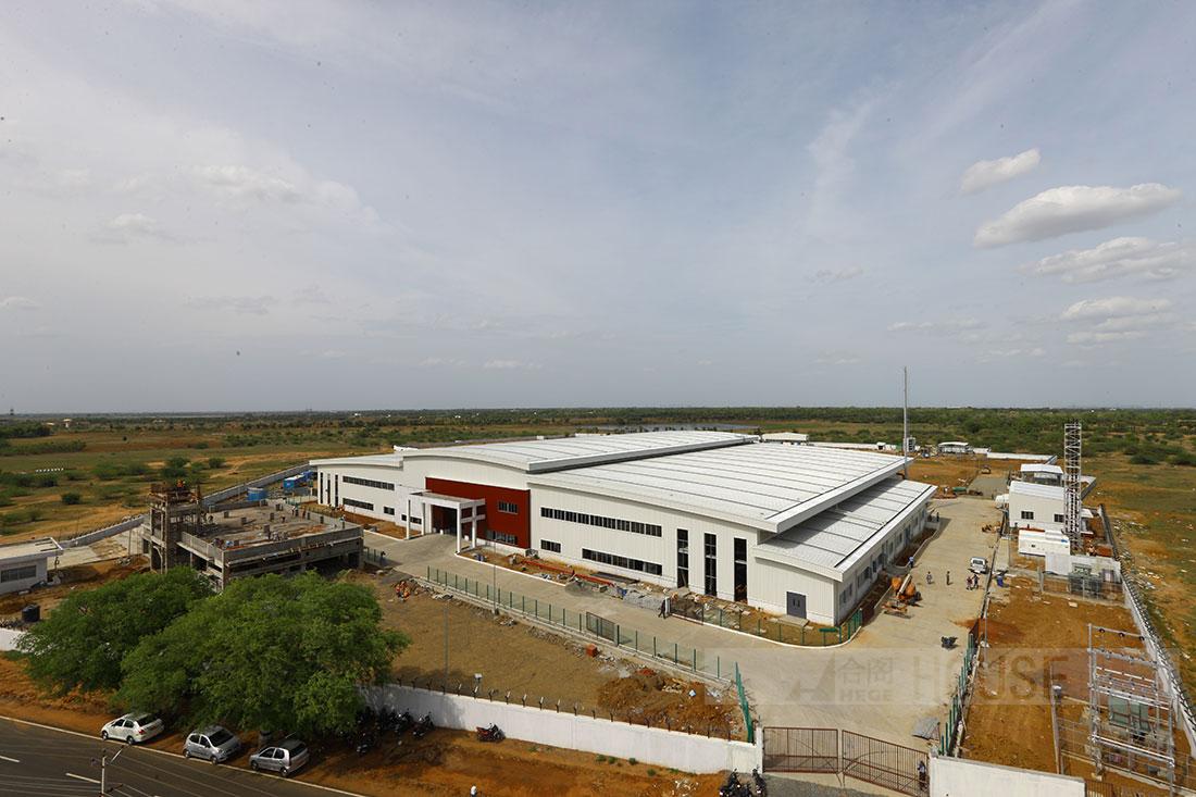 钢结构厂房工程近期项目展示