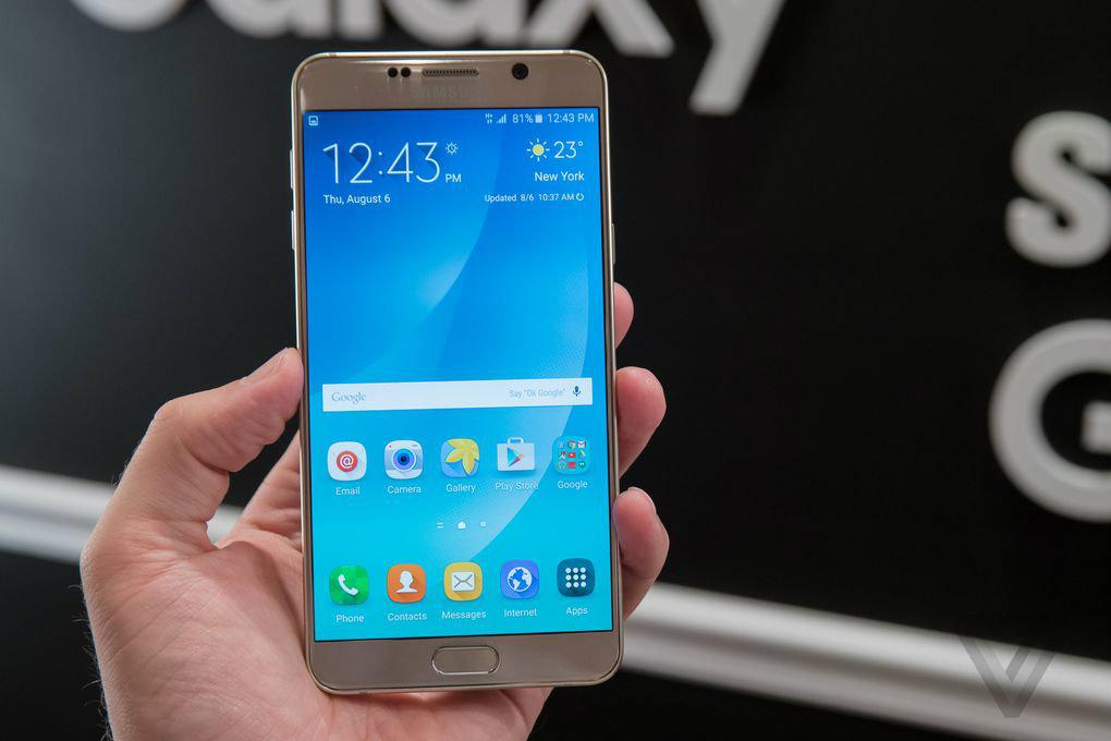 特性怪兽来袭!三星Galaxy Note 5图赏