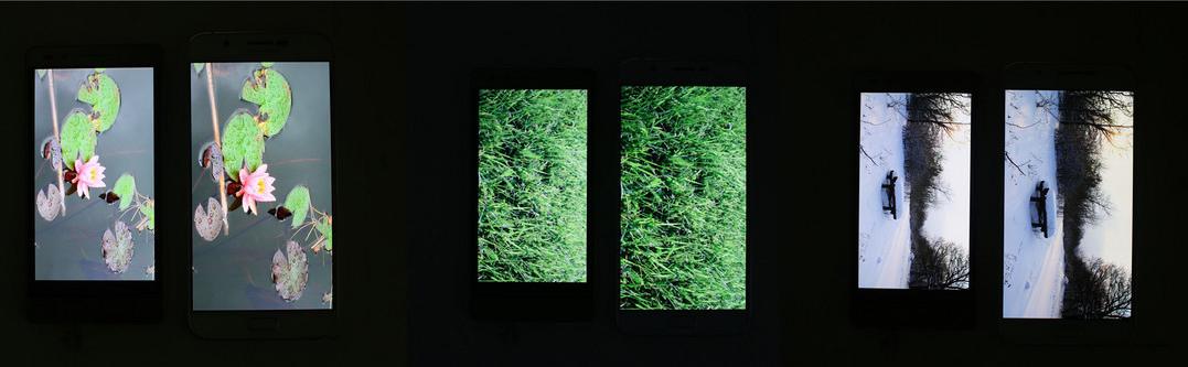 荣耀7 PK三星GalaxyA8,显示屏有目共睹