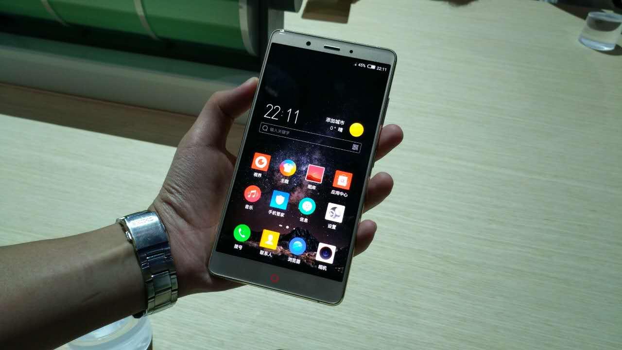 C罗典藏版限量!nubia公布较长续航力大屏幕Z11 Max手机上