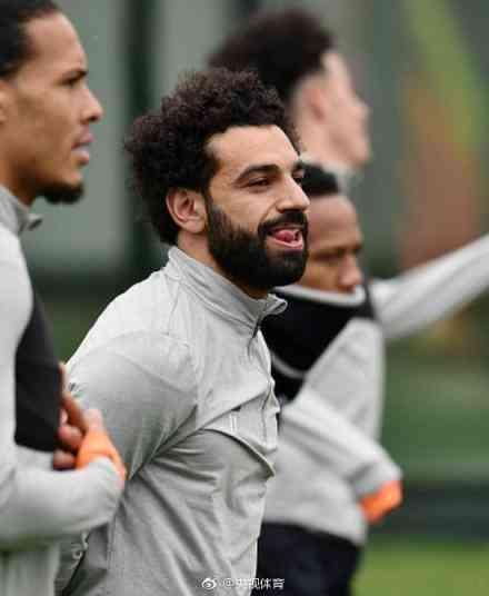 萨拉赫:利物浦大利好!萨拉赫伤愈合练