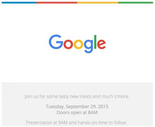 Nexus新手机 安卓系统M Google将于9.29开新品发布会