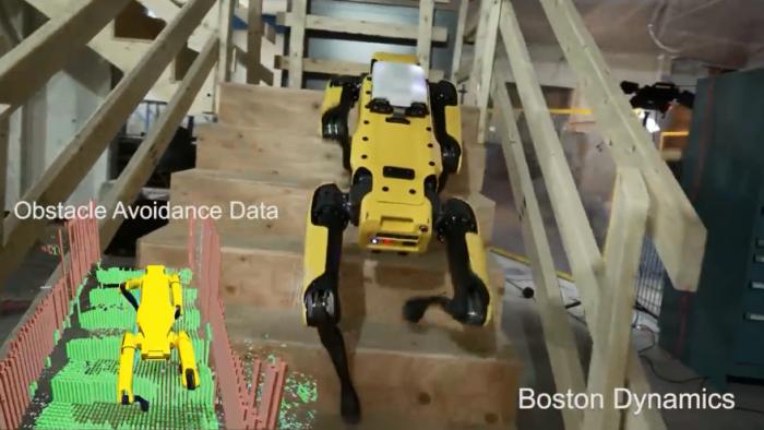 不再需要人类 波士顿动力机器狗SpotMini已经能一个人遛弯