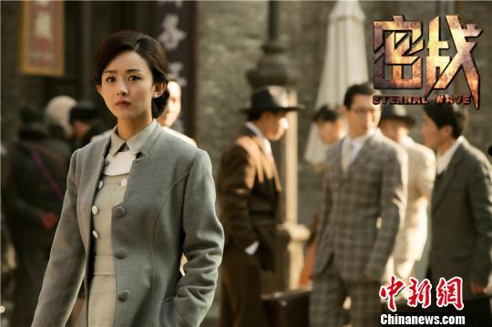 """《密战》主演赵丽颖:我非常""""钟情""""这个角色"""