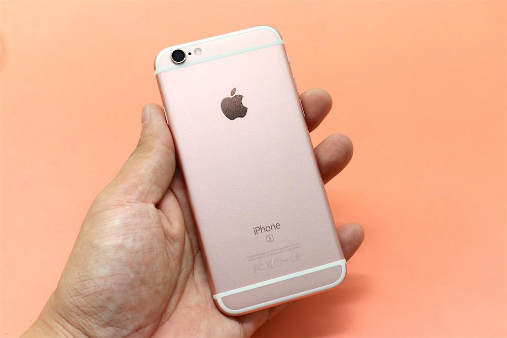 一样是玫瑰金色,iPhone 6S让手机上风韵大不相同!