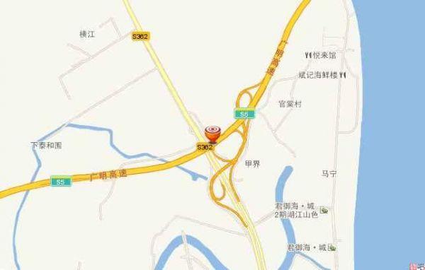 货车自燃鸭子烤熟了 出事段广明高速佛山段地图