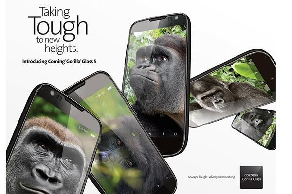 之后你的手机从此无需玻璃膜了,全新第五代大猩猩玻璃让手机上不害怕摔