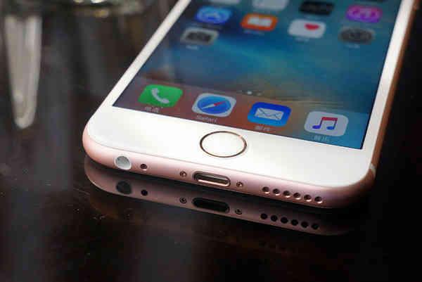 iPhone 7或将应用全新升级Home键 实际操作更带劲!
