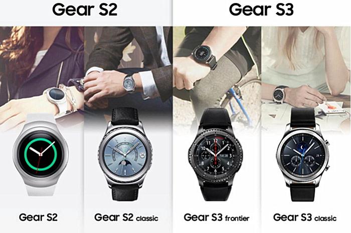 三星Gear S3公布:颜值爆表环形表壳,还适用三星智付