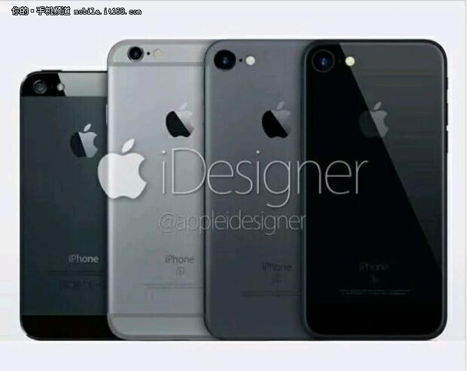 六种颜色 iPhone7存储量获确定