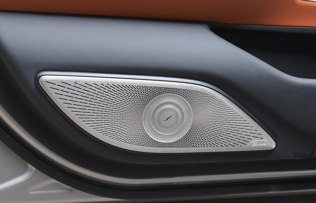 21款奔驰S级W223改装4D大柏林之声,升级原厂360全景