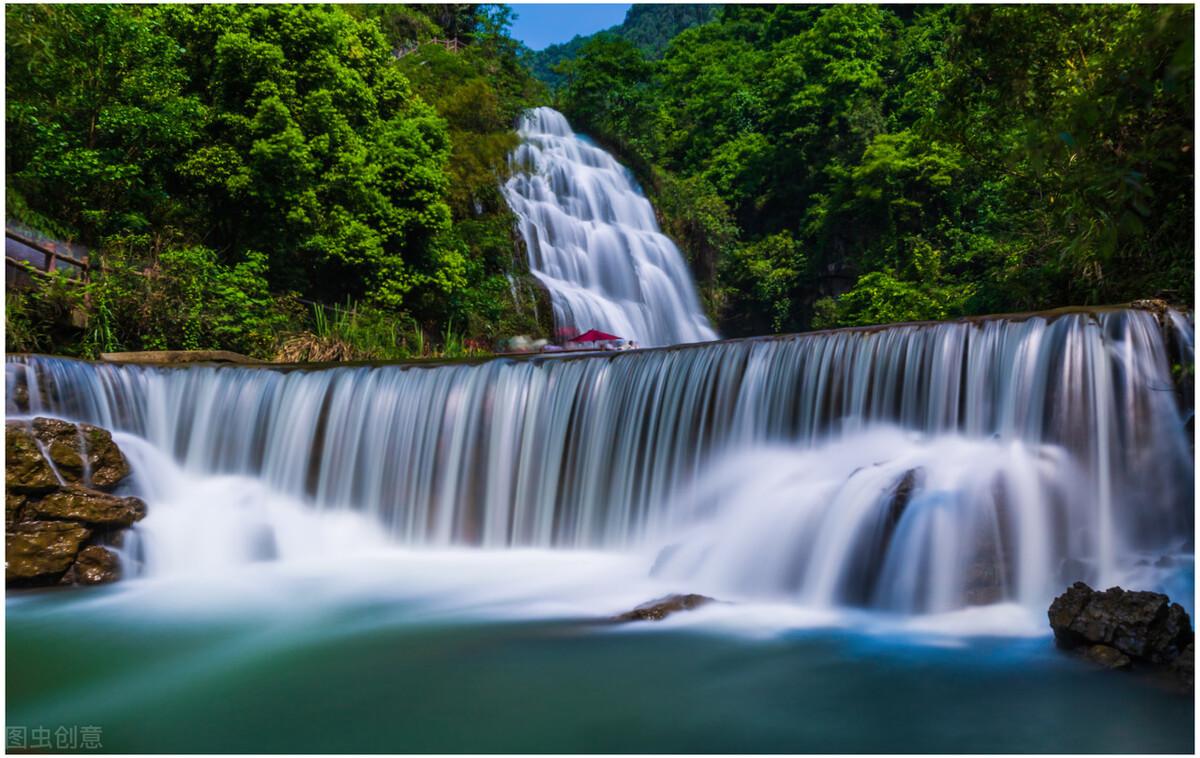 国庆、中秋去哪儿???华蓥山川东大瀑布景区欢迎您