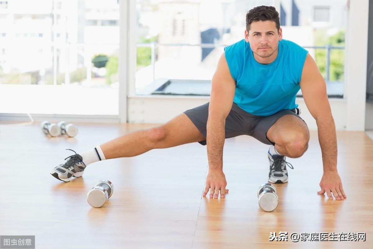 这4种健身动作,很适合男人做!不用去健身房也能做