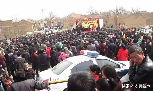 早年礼泉县药王爷庙会