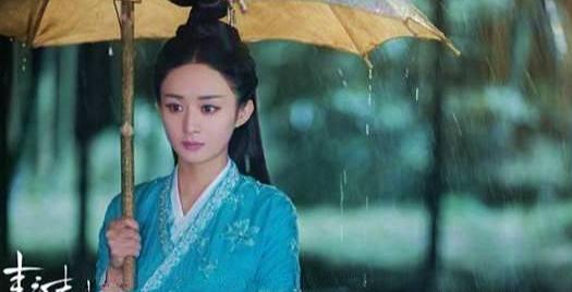 沒特效的淋雨戲:趙麗穎唯美,楊冪成落湯雞,唐嫣最尷尬