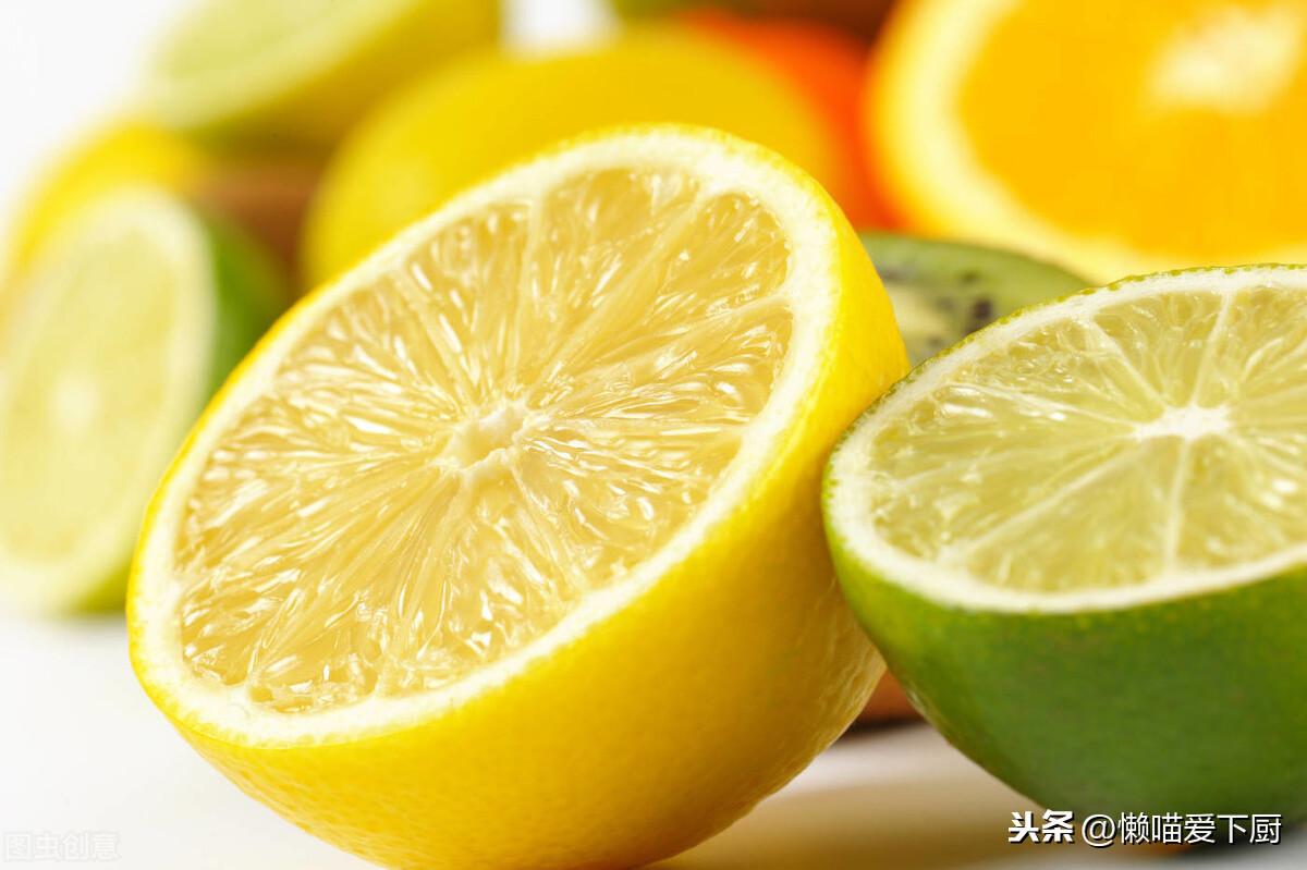 青柠檬和黄柠檬的区别和作用