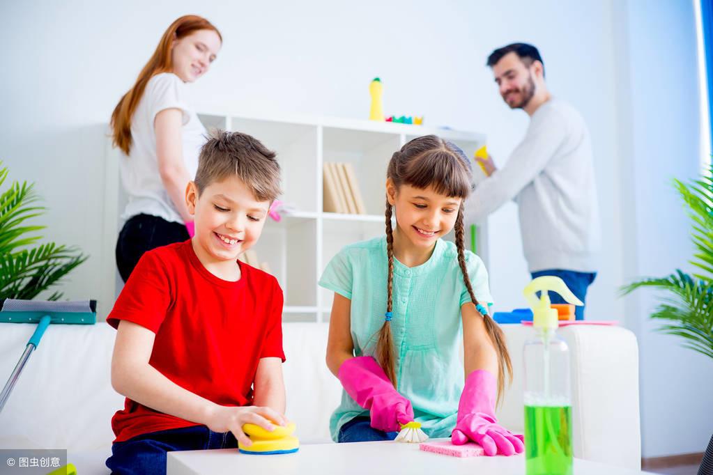 舍不得让孩子做家务,这样大错特错,七个小妙招让孩子爱上做家务 家务 第4张