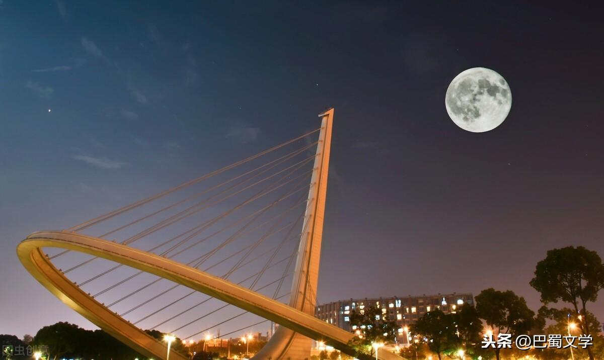 月下中秋夜