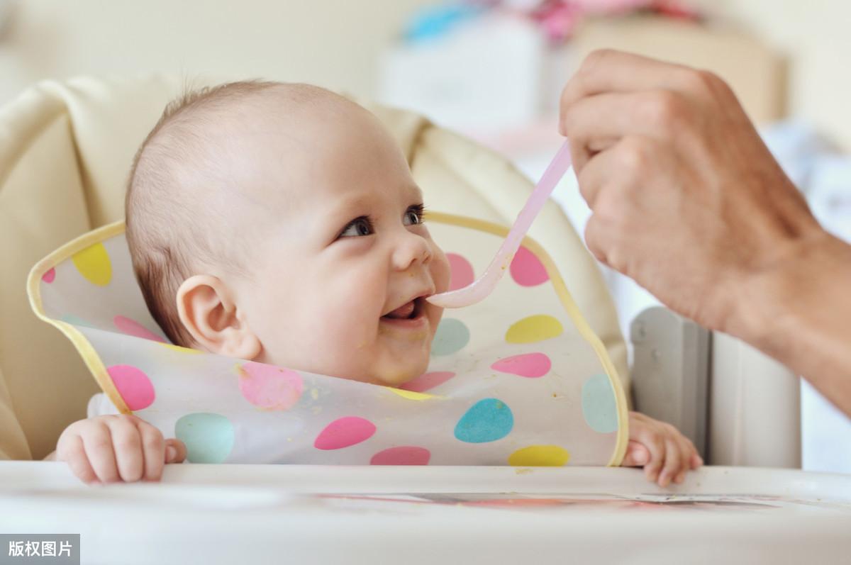 宝宝4-6个月吞咽期详细喂养攻略! 宝宝营养配餐 第2张