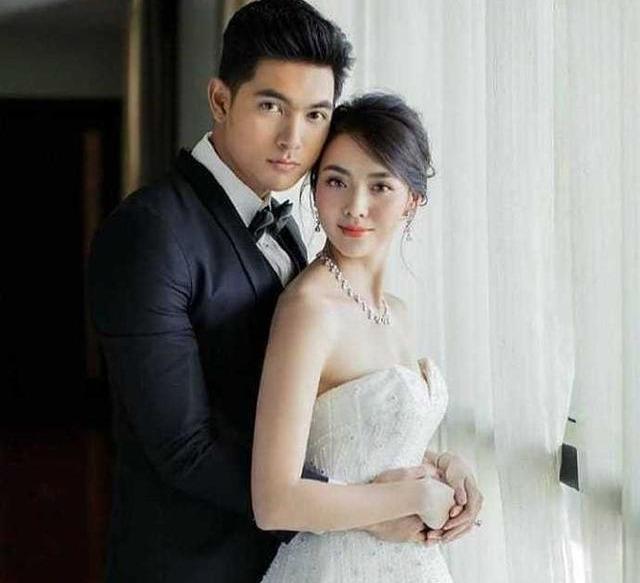 Mookda与Kem公开婚纱照,这一动作亮了!网友:好般配