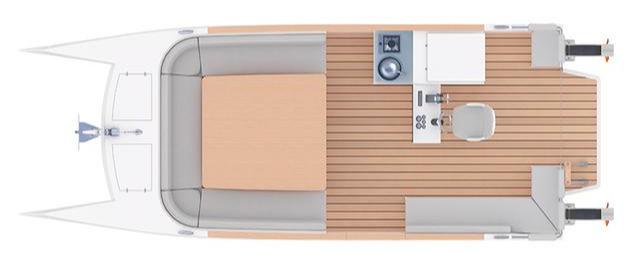 法国电动双体休闲船「Bagoù 7.0」打响品牌第一枪