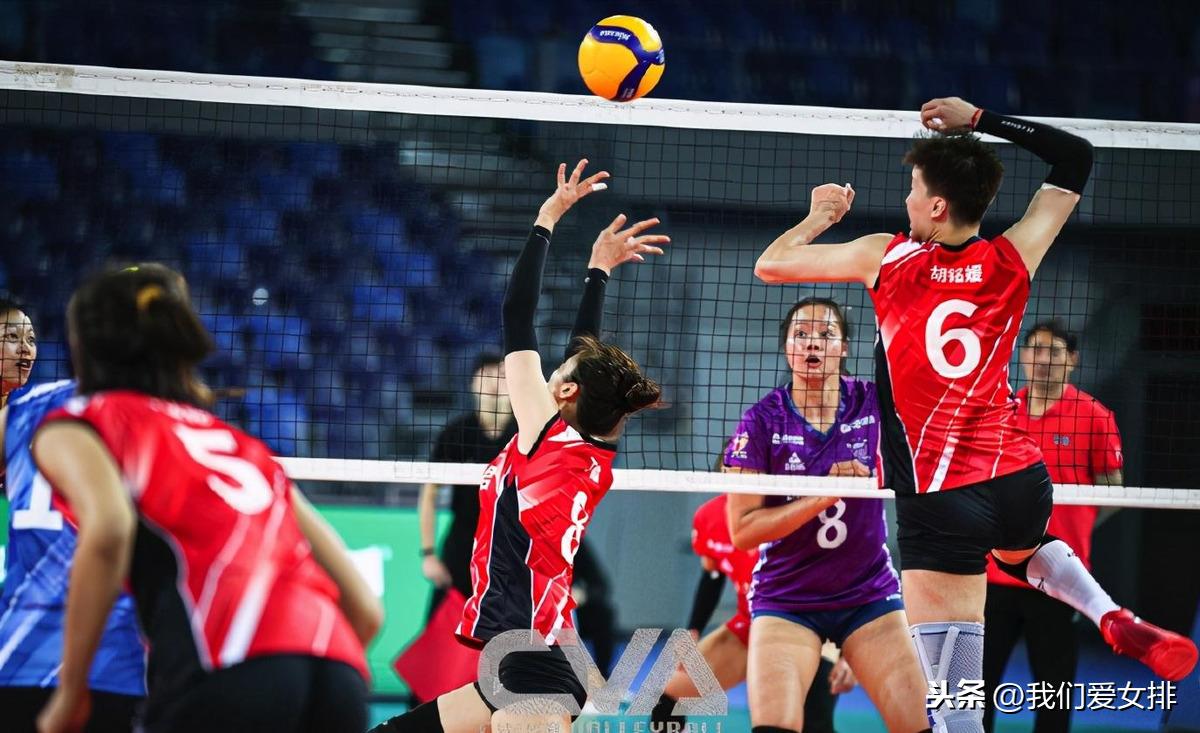 女排联赛第二轮,朱婷赛季首秀,胡铭媛领跑副攻榜,利普曼得分王