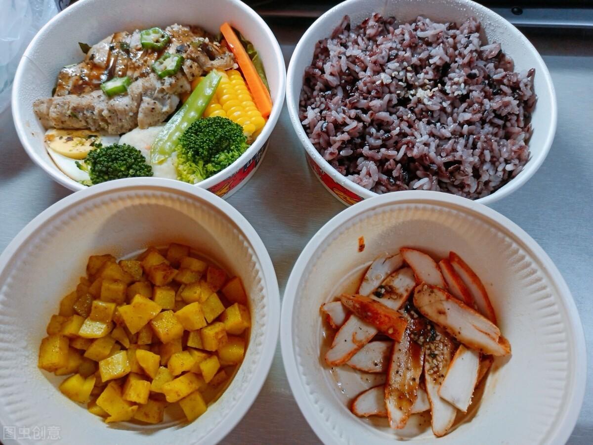 科学的减脂餐,牢记3个原则!附:一日三餐减肥食谱 减脂餐 第4张