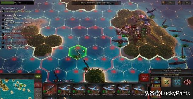战略思维:太平洋--尊重史实,画面精美的策略游戏