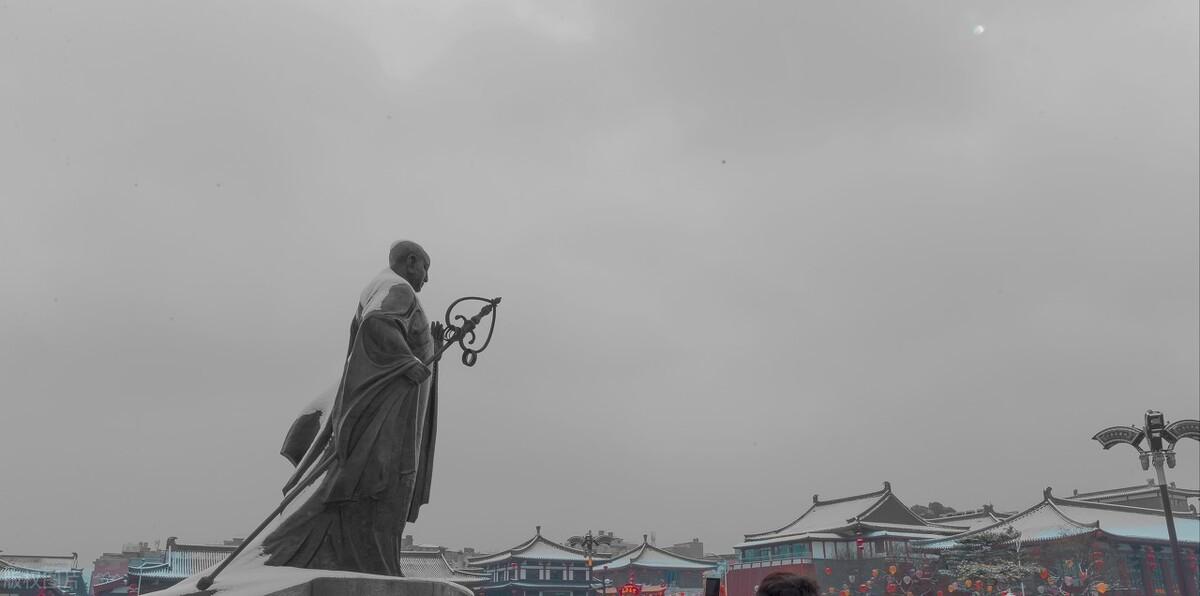 唐僧是历史上第一个去西天取经的吗?来西安玩,这些得了解下