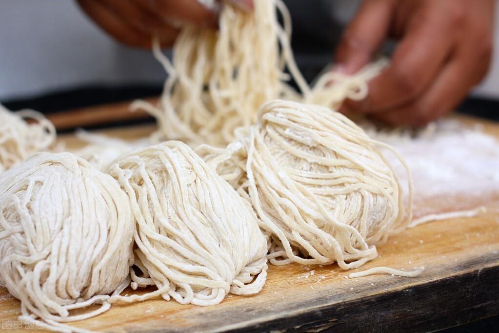 「陕北美食」豌豆杂面