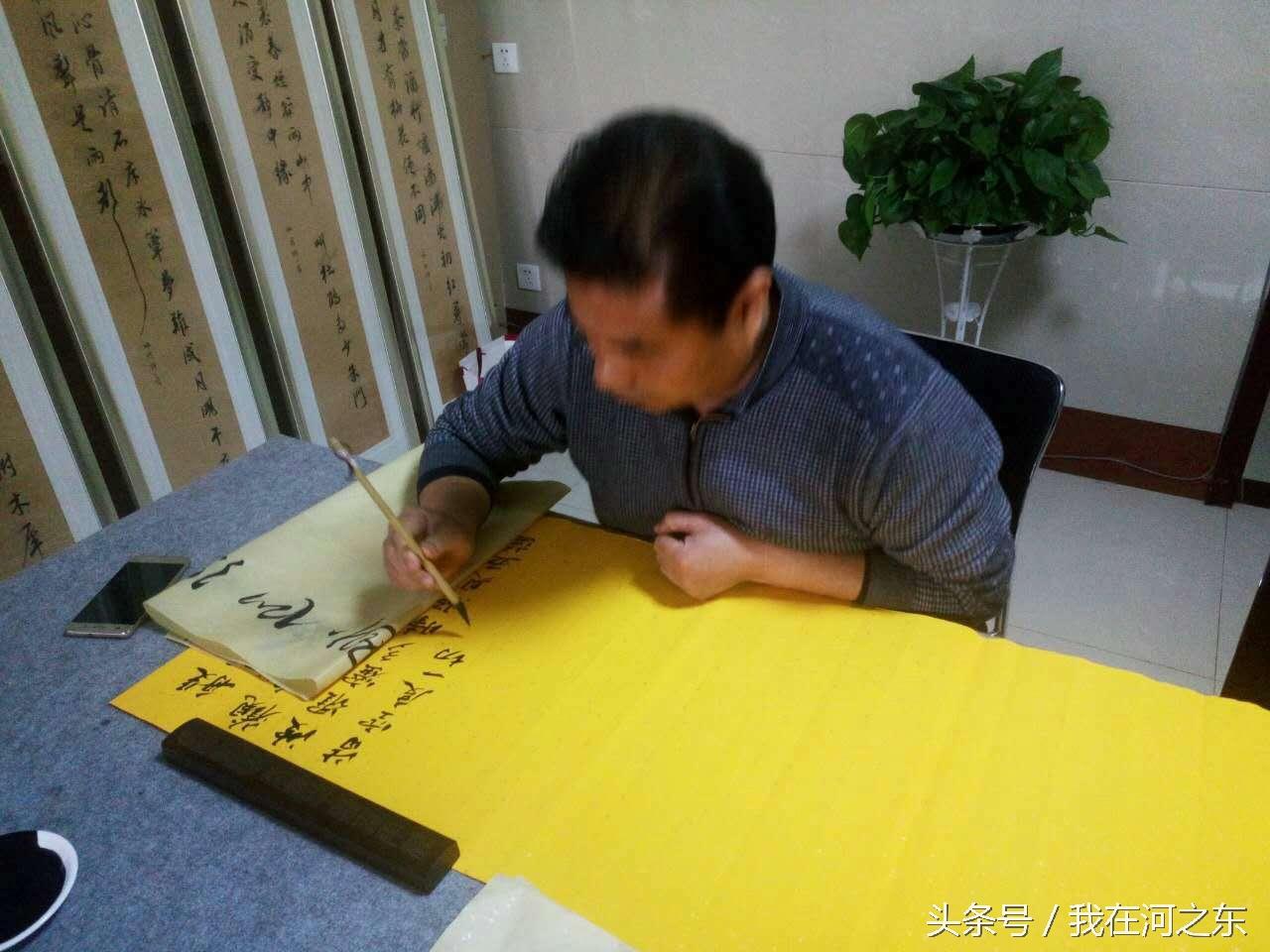 刘纪昌:一副心经改变了两个人的命运