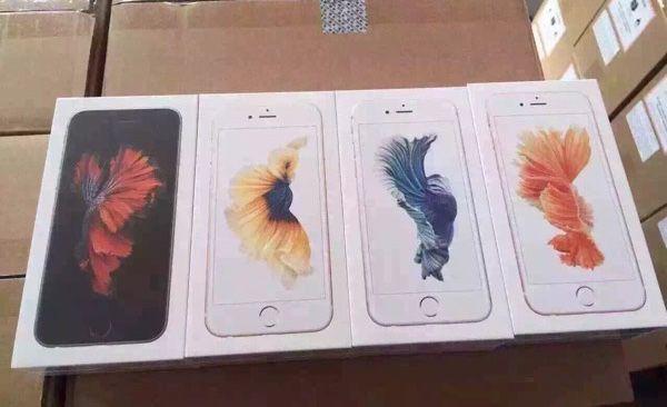 iPhone6s拆箱先发 玫瑰金色初次现身
