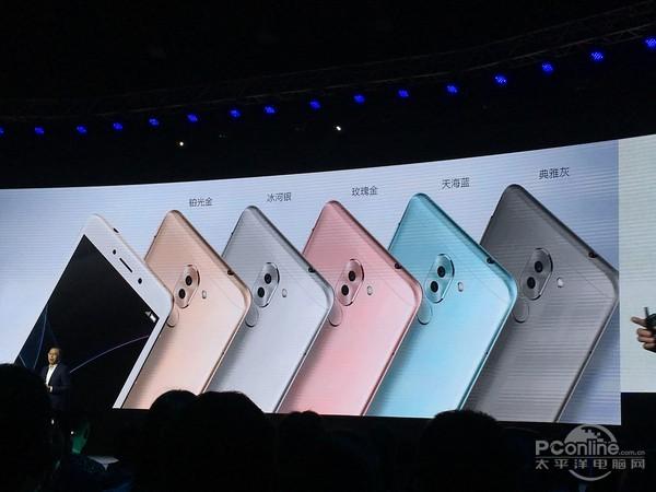 999元起荣耀畅玩6X发布:双镜头手机这样玩真是666