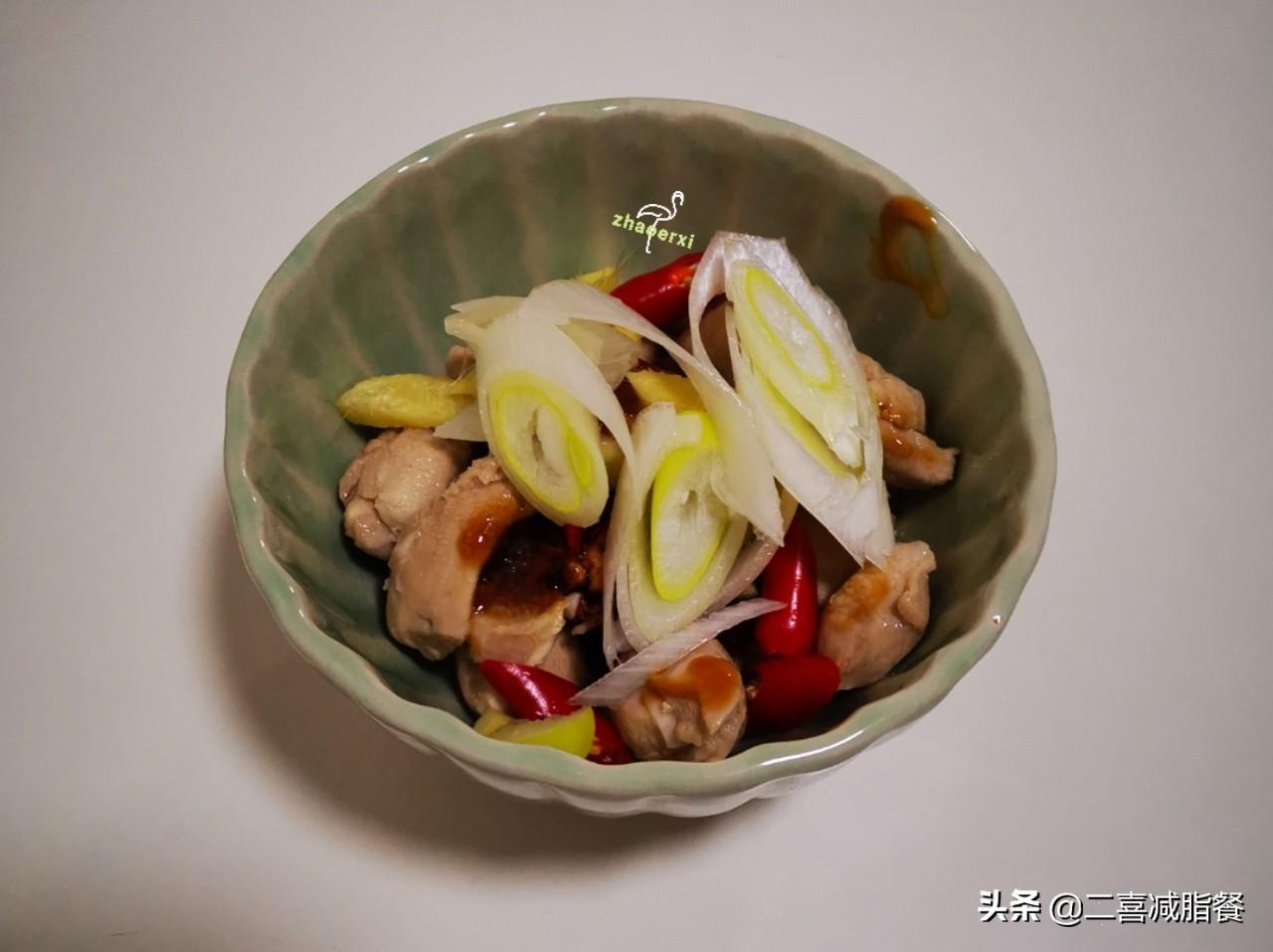 减脂的蟹味菇蒸鸡,多糖和高蛋白的完美结合 减肥菜谱做法 第2张