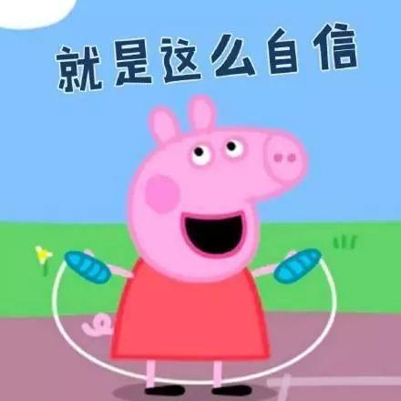 小猪佩奇表情包:我的天呐,你是猪吗
