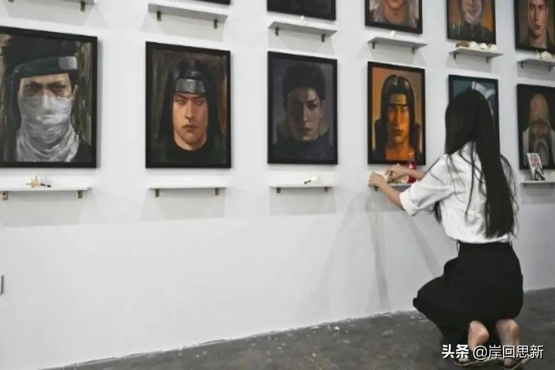 泰國畫師舉辦動漫死亡角色畫廊:JOJO、火影與鬼滅,堪比靈堂