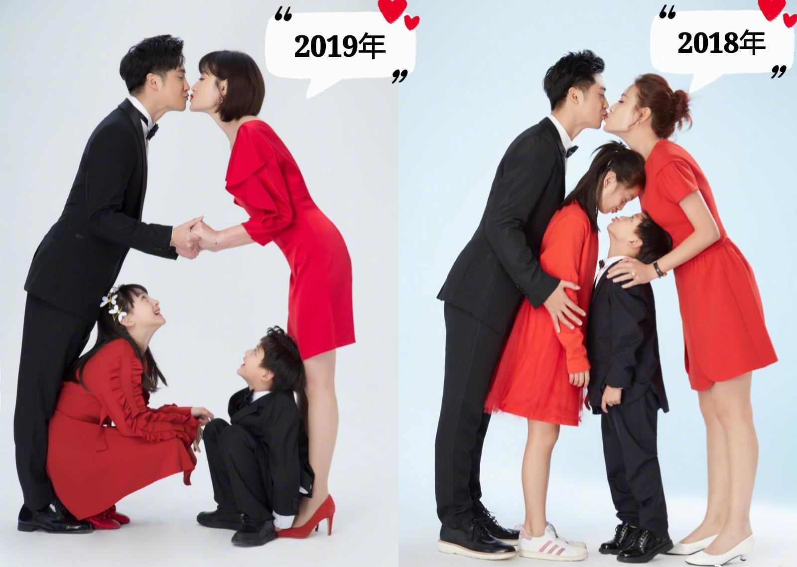 叶一茜晒全家福庆生,田亮亲手喂长寿面,两人忘情接吻超浪漫