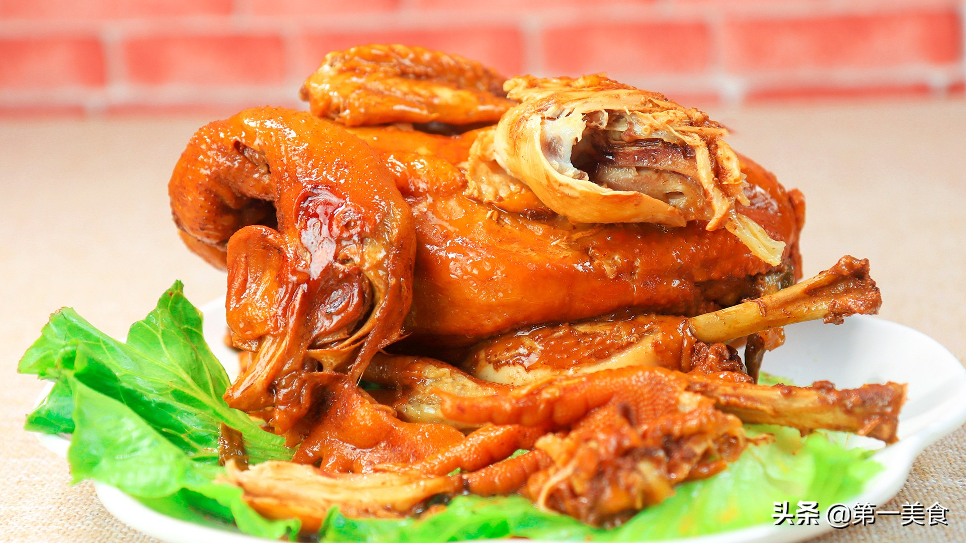 懒人版电饭锅煲鸡 不加水 不加油 腌制才是关键 鲜嫩好吃