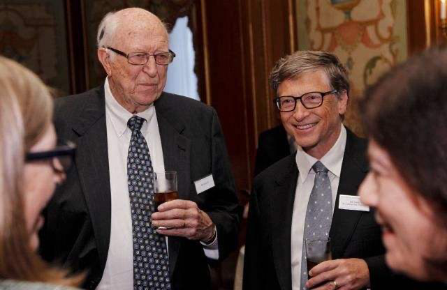 世界首富比爾蓋茨父親去世,享年94歲,生前父子對話曝光太感人