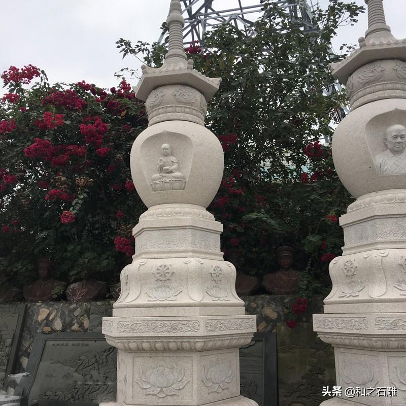 石雕佛塔的各个结构的用途及寓意