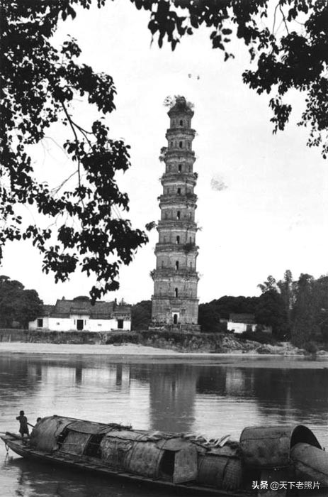 1930年代广东高州老照片  80多年前高州城乡风景及人物风貌